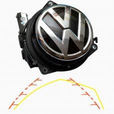Камера заднего вида для Volkswagen Golf V, VI, Passat B6 4D, B7 4D, CC Prime-X TR-05 CAN IPAS