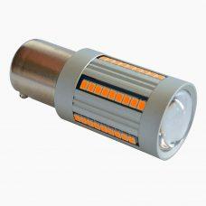 Светодиодная лампа в поворот P21W Prime-X S25-A (желтая)