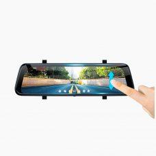 Зеркало-накладка видеорегистратор Prime-X 109C  с камерой заднего вида