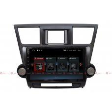 Штатная магнитола Toyota Highlander II U40 RedPower 30035