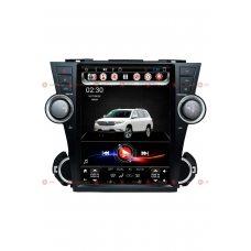 Штатная магнитола RedPower 31035 Tesla Style для Toyota Highlander II (U40) 2007-2013