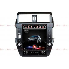 Штатная магнитола Toyota LC150 Prado 2014+ RedPower 31265 Tesla Style