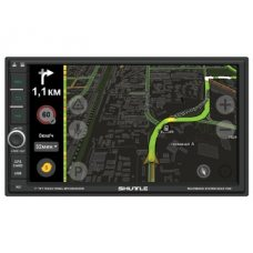Автомагнитола 2DIN с GPS Shuttle SDUA-7050 Black/Green