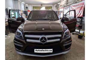 Mercedes GL W166 - установка автосигнализации