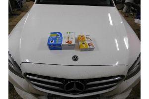 Установка охранной системы в Mercedes-Benz C200 4matic