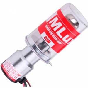 Биксеноновая лампа MLux H4 35W steel