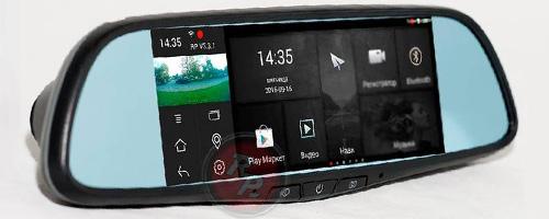 Зеркало видеорегистратор RedPower AMD65 (на Android)
