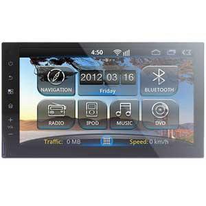 Универсальная штатная 2DIN магнитола RoadRover Universal 7 178×100 (на Android)