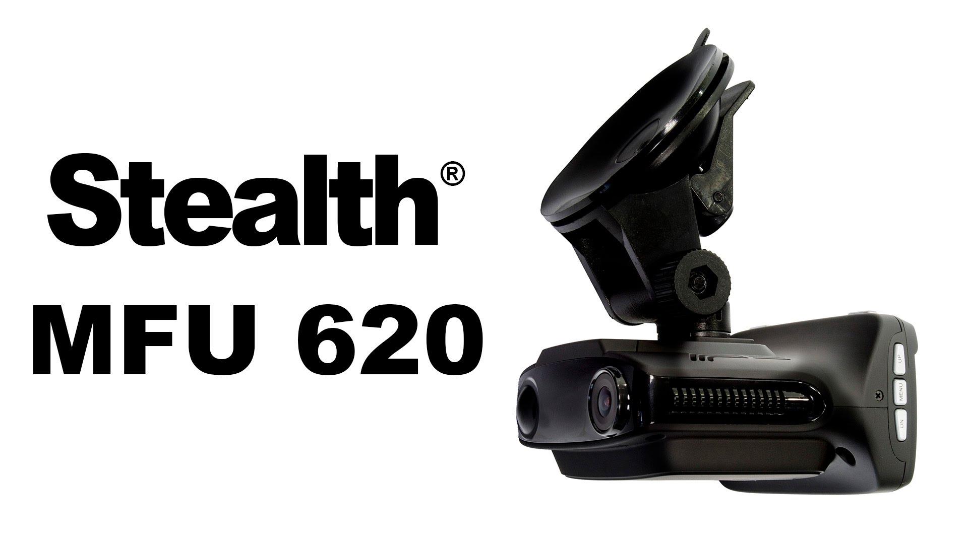 видеорегистратор 3 в 1 Stealth MFU 620