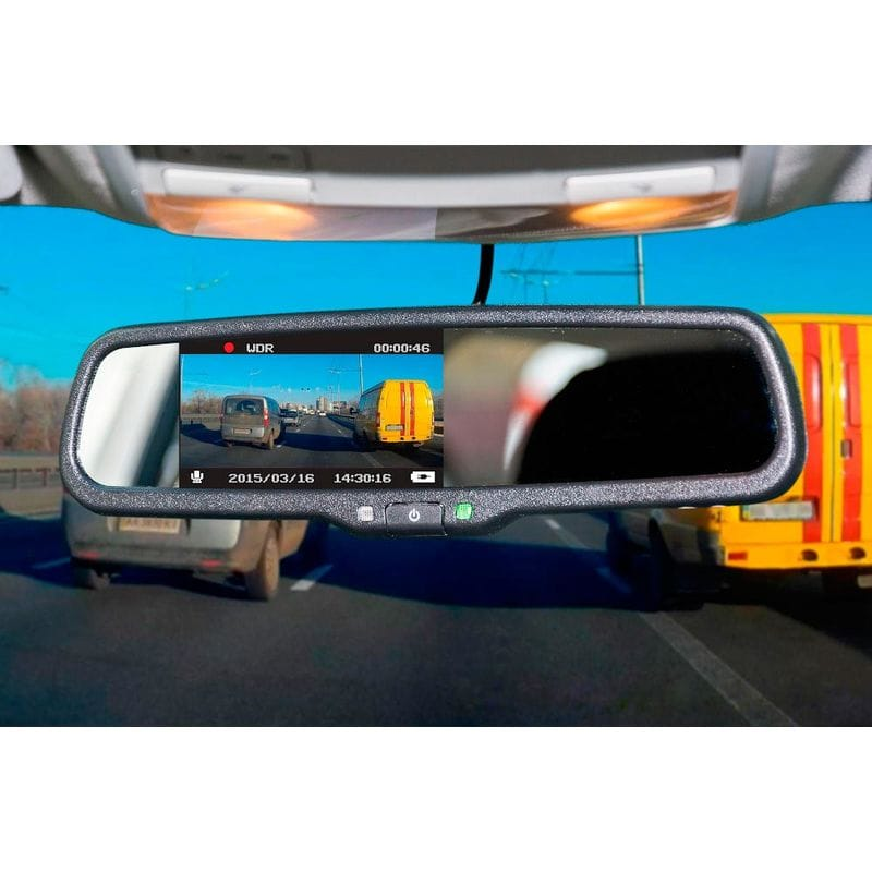 зеркало-видеорегистратор Phantom RMS-430 DVR с монитором 4,3″