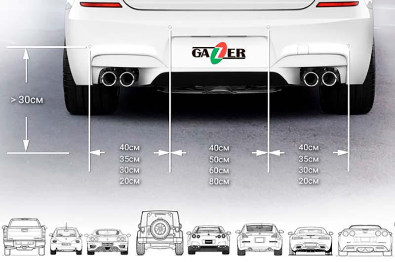 Gazer PA40R, Gazer PA45R, Gazer PAD20
