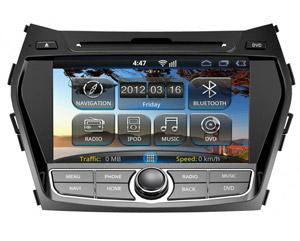 Штатная магнитола для Hyundai Santa Fe 2013+ RoadRover (на Android)