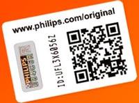 Сертификат подлинности Philips (COA)