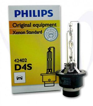 Ксеноновая лампа D4S Philips 42402 XenEco