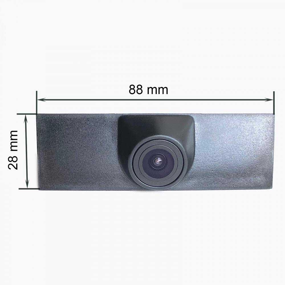 камера переднего вида volkswagen touareg