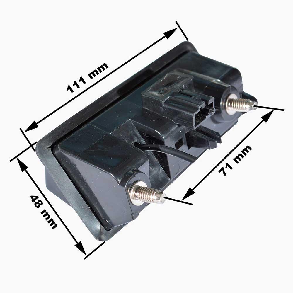 камера заднего вида для volkswagen audi