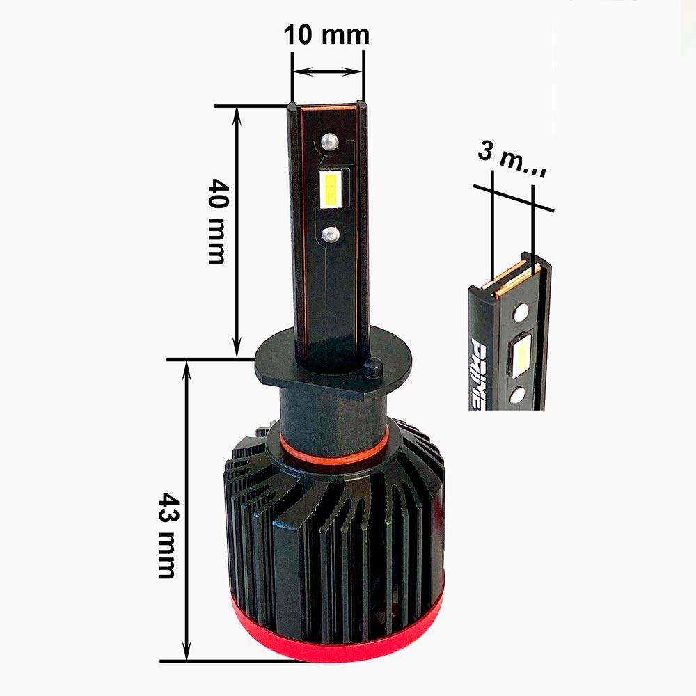 LED лампы для авто Prime-X серии S Pro