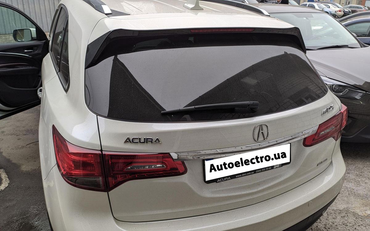 Установка автосигнализации на Acura MDX