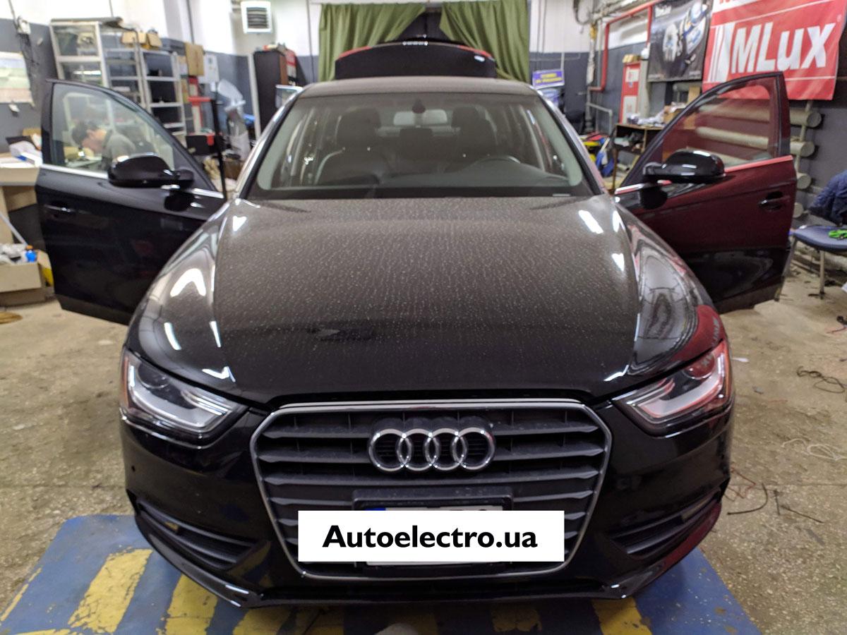 Установка камеры заднего вида на Audi A4