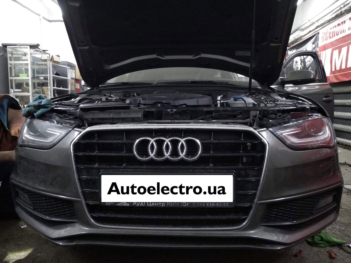 Установка парктроников на Audi A4