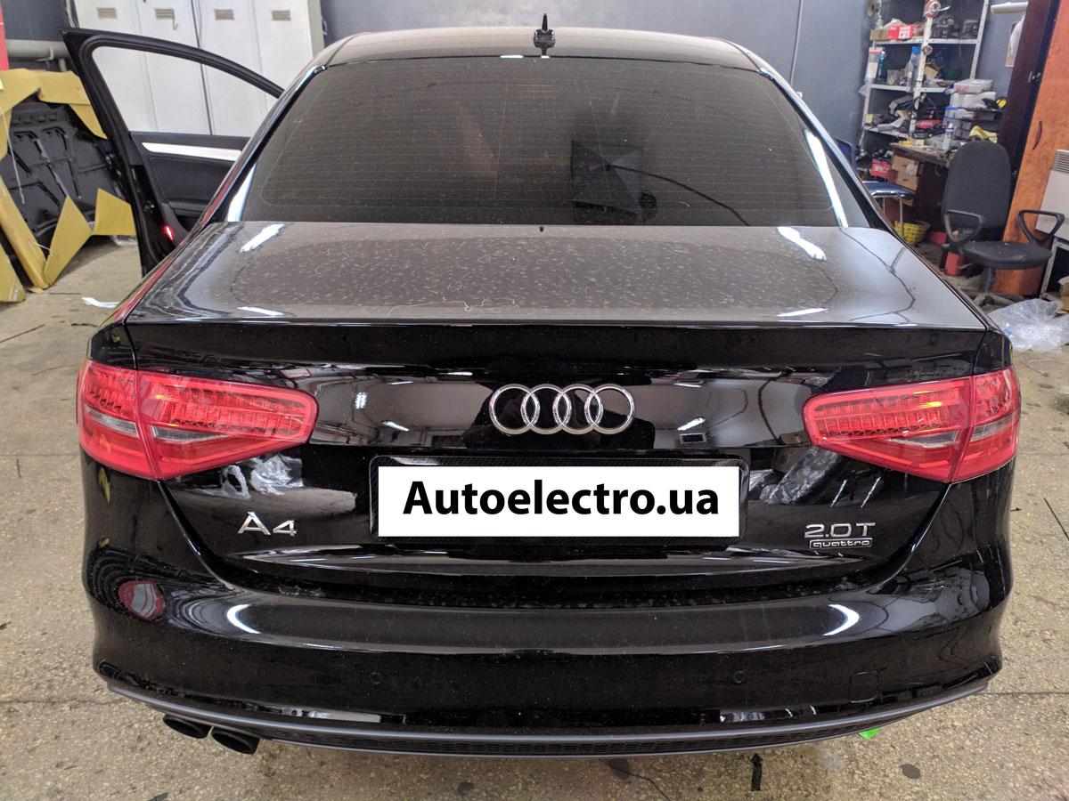 Установка автосигнализации на Audi A4