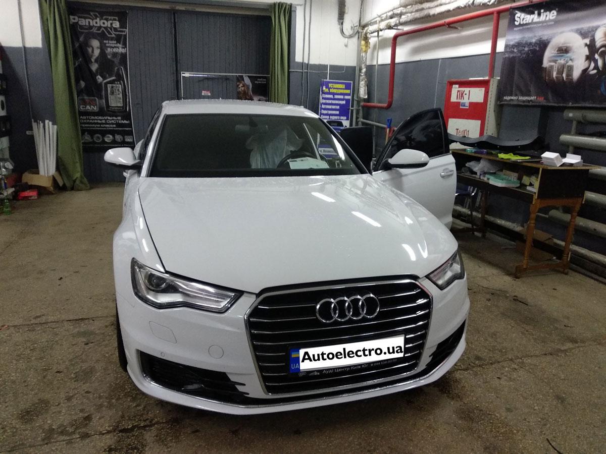 Установка иммобилайзера на Audi A6
