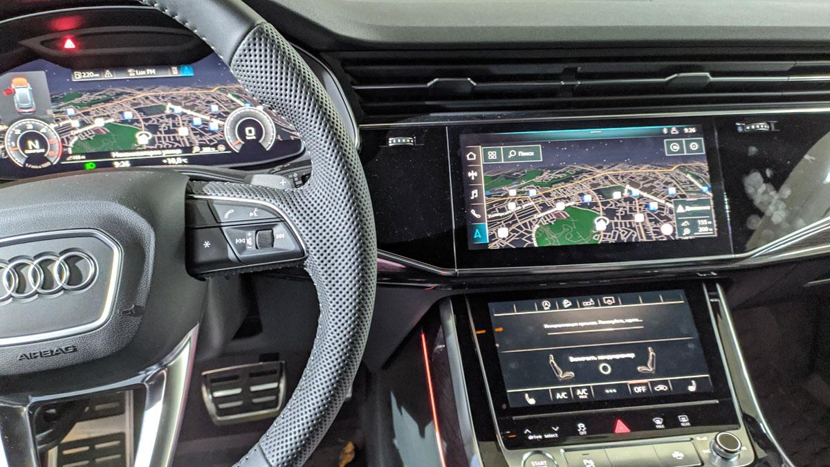 Установка автосигнализации на Audi Q8