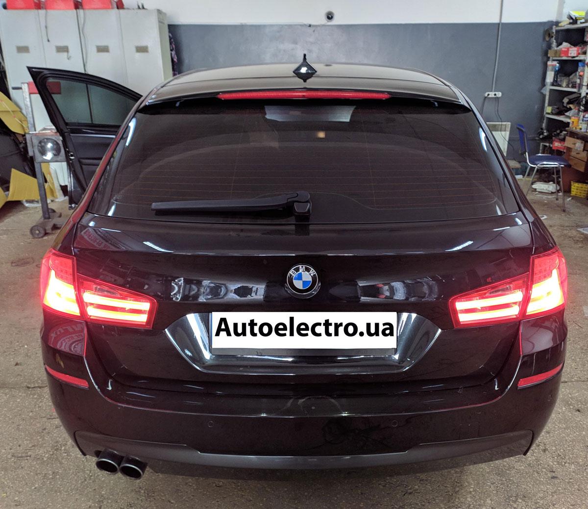 Установка автосигнализации на BMW 5 F11