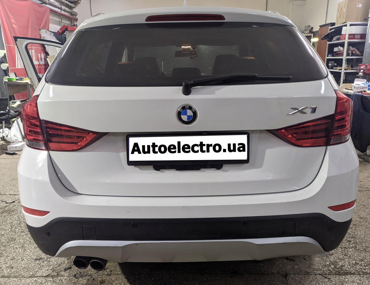 Установка парктроников на BMW X1