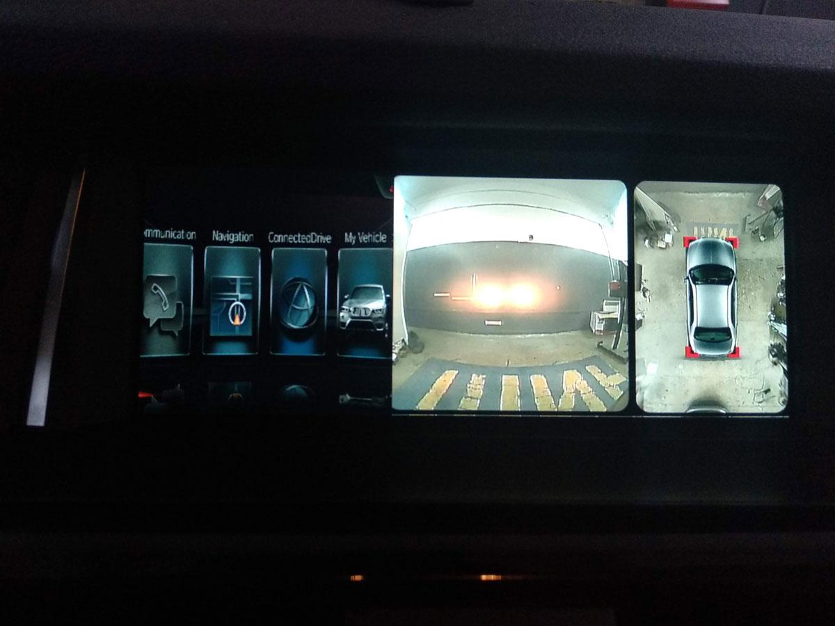 Установка кругового обзора на BMW X3