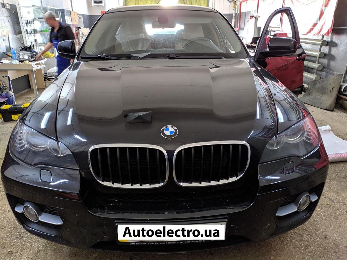 Установка секретки на BMW X6