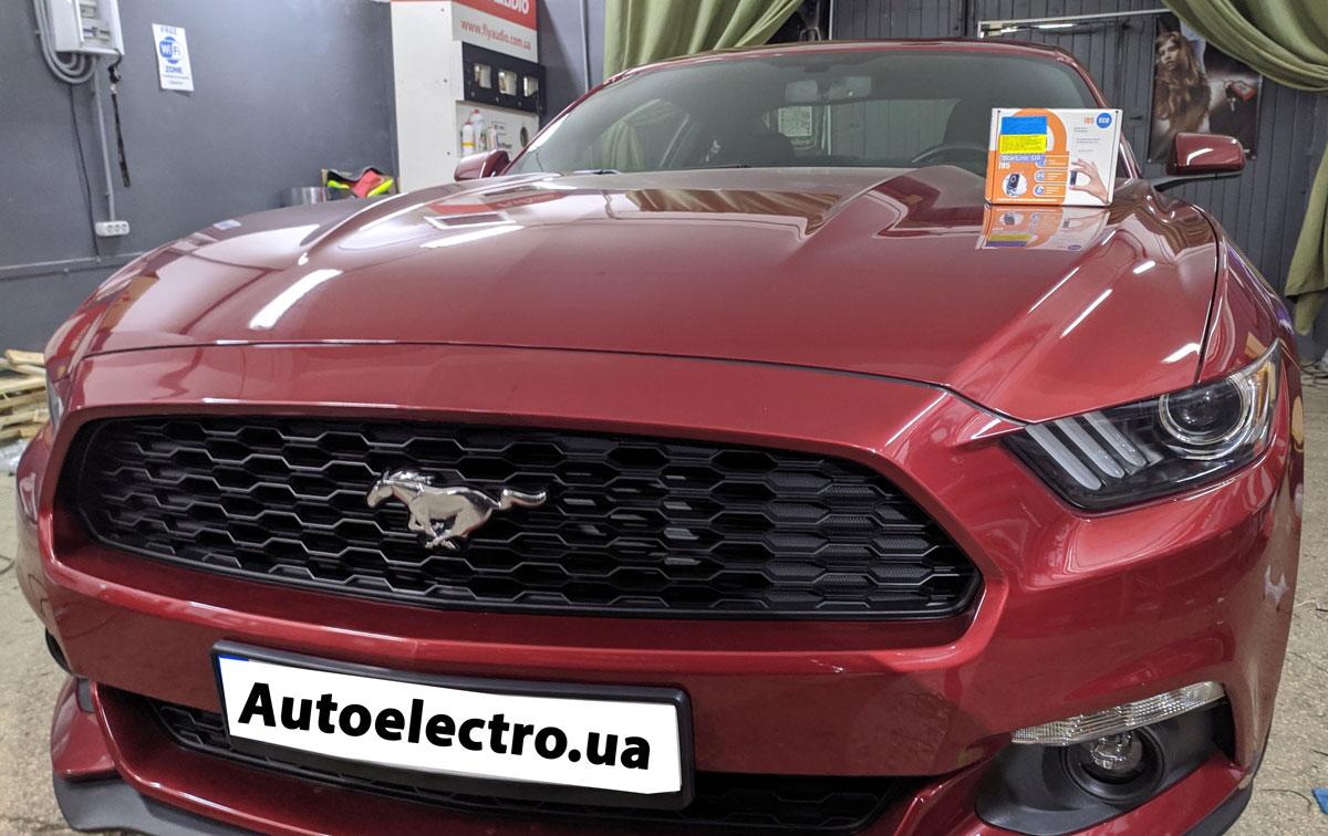 Установка иммобилайзера на Ford Mustang