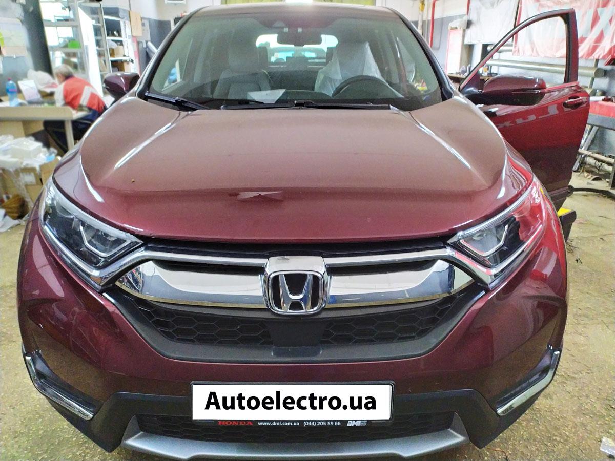 Установка автосигнализации на Honda CRV
