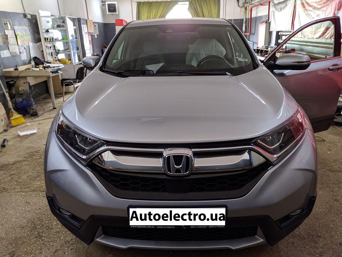 Установка автосигнализации на Honda CR-V