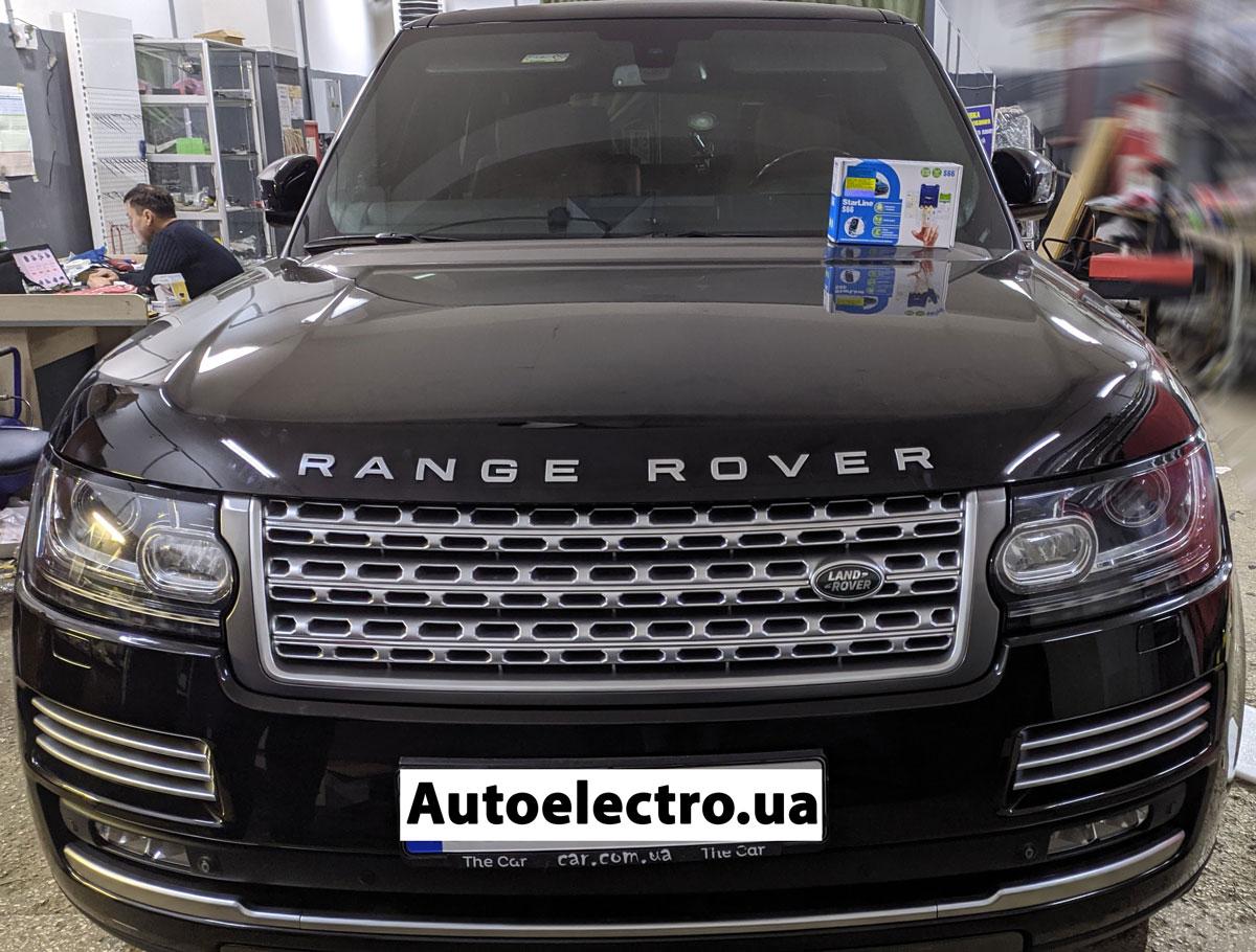 Установка автосигнализации на Range Rover Vogue