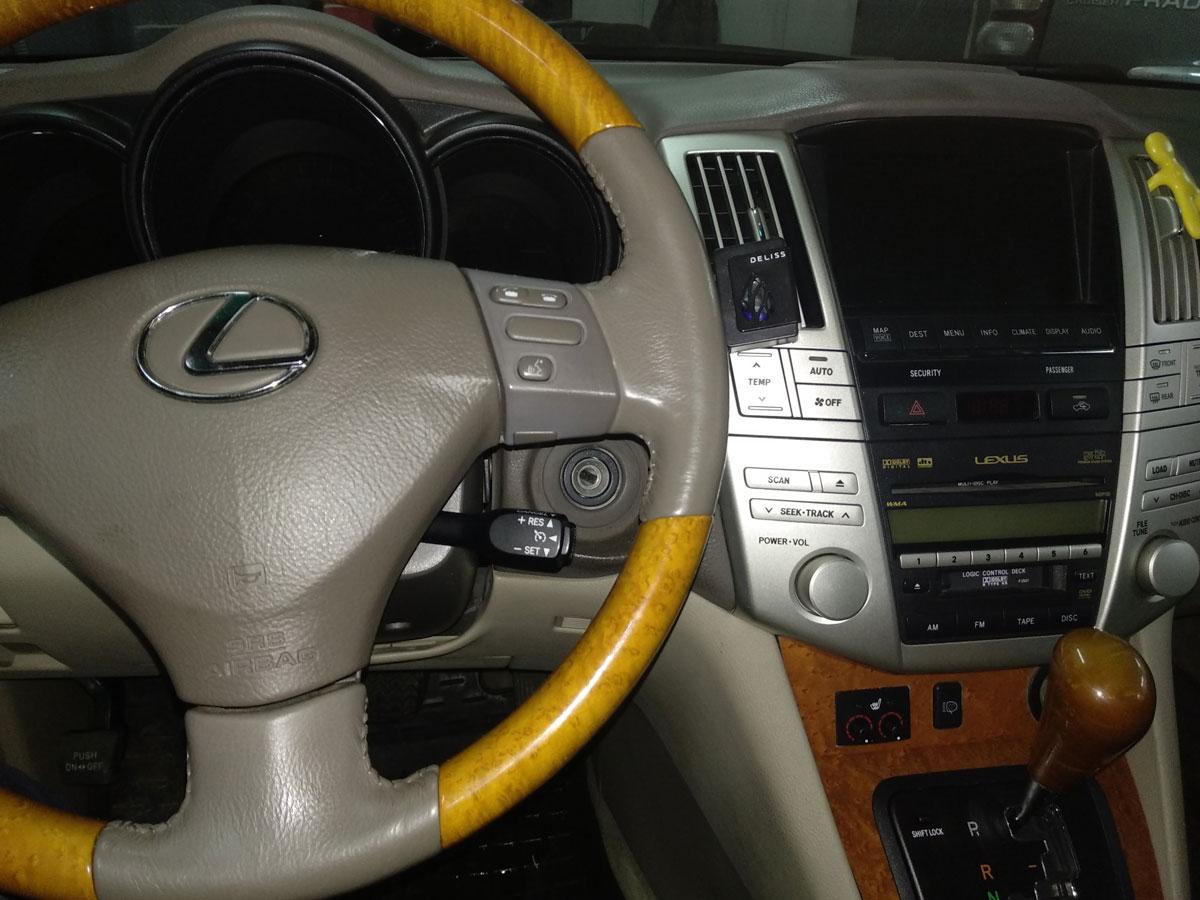 Установка подогрева сидений на Lexus RX350