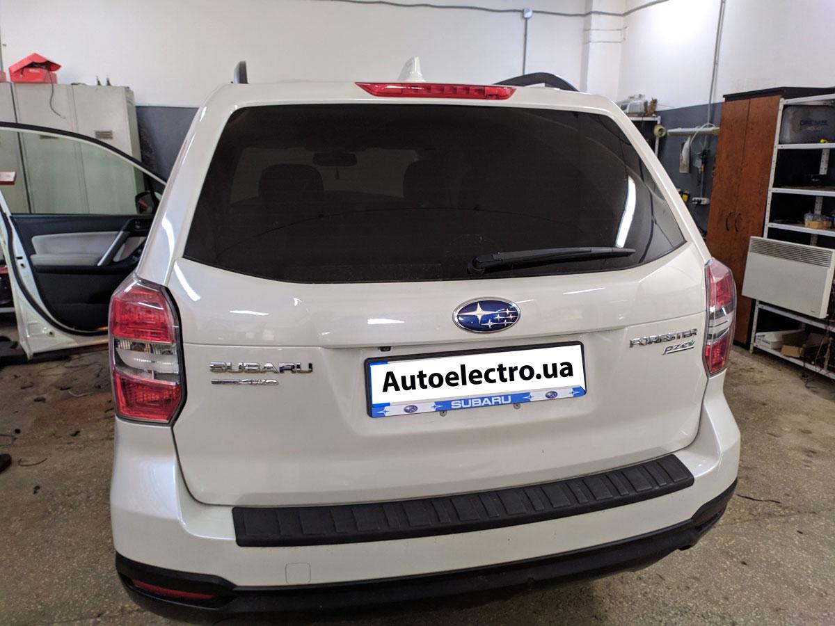 Установка автосигнализации на Subaru Forester