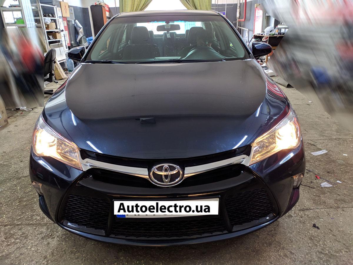 Установка автосигнализации на Toyota Camry V55