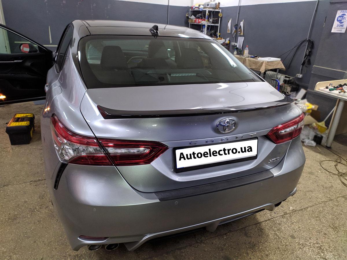 Установка автосигнализации на Toyota Camry V70