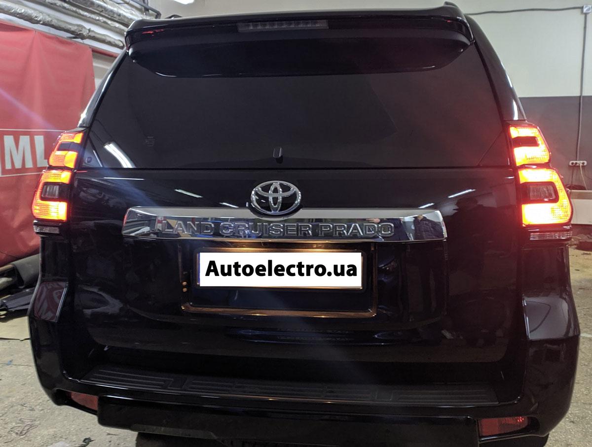 Установка автосигнализации с автозапуском на Toyota LC150