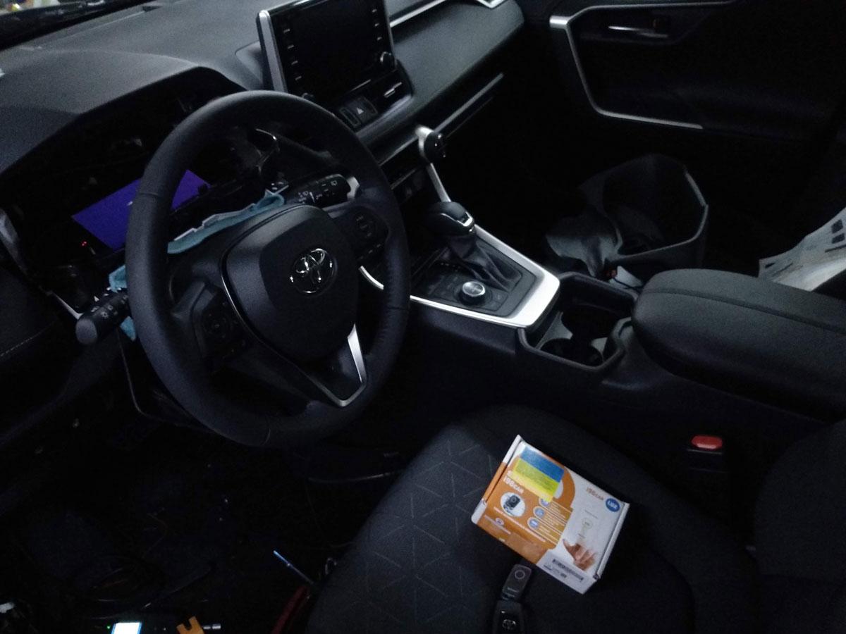 Установка иммобилайзера на Toyota RAV4