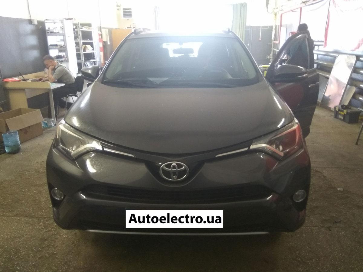 Установка автосигнализации на Toyota RAV4