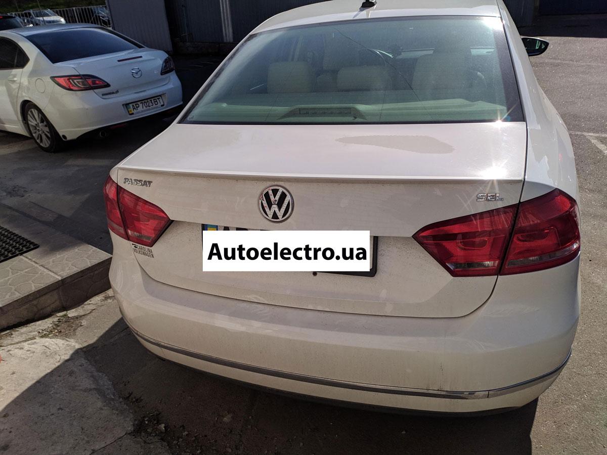 Установка автосигнализации на VW Passat B7 USA