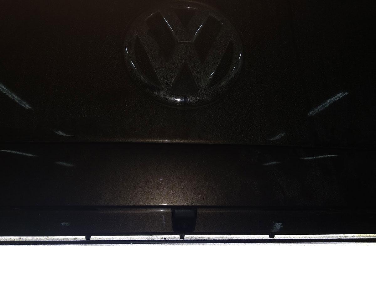 Установка камеры заднего вида на VW Multivan T6