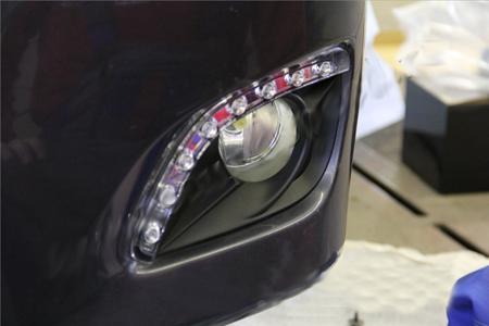 Установка DRL на Toyota Camry V40