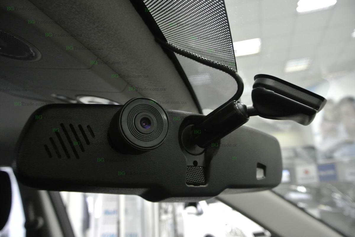 Установка зеркала видеорегистратора на Suzuki тип 3