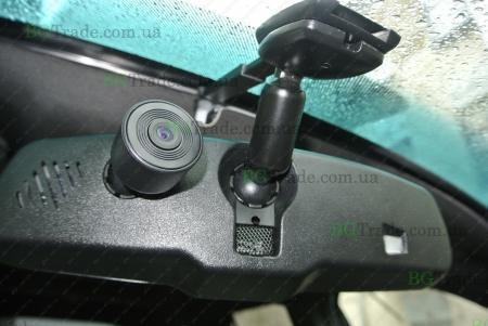 Установка зеркала видеорегистратора на Honda тип 7