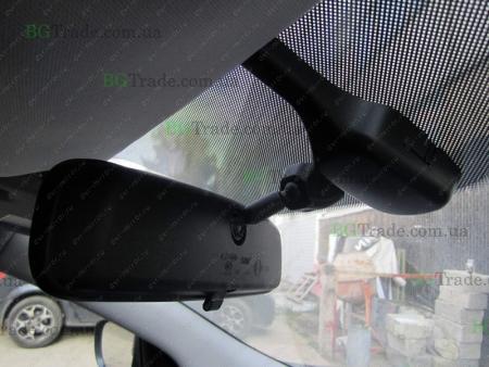 Установка зеркала видеорегистратора на Hyundai тип 5