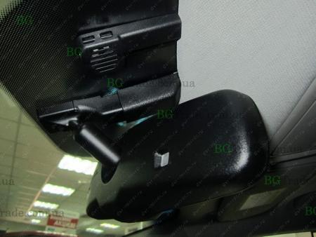 Установка зеркала видеорегистратора на Hyundai тип 8