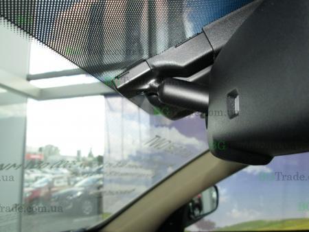 Установка зеркала видеорегистратора на Hyundai тип 9